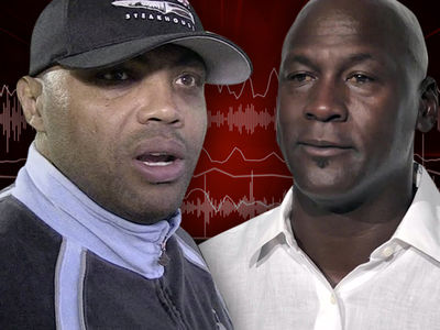 Charles Barkley -- Michael Jordan Beef Still Fresh ... 'Not Where We Used To Be' (AUDIO)