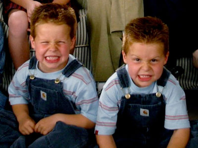 Twins in 'Cheaper by the Dozen': 'Memba Them?!