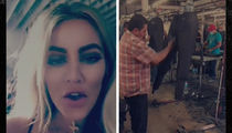 Khloe Kardashian -- I Ain't Running No Sweatshop!!! (VIDEO)
