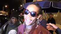 Wiz Khalifa -- Kanye Needs My Kush ... I'll Send Some to the 'Institution!' (VIDEO)