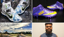 NFL Players -- Showin' Off Charitable Creativity ... With Custom Cleats (PHOTO GALLERY)