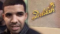 Drake -- Bodyguard Roped Into Battery Case