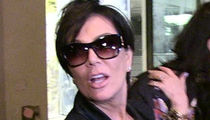 Kris Jenner -- Bails On Art Basel Party ... Timing was Bad