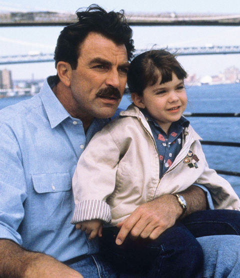 Robin Weisman is best known for playing the adorable Mary -- photographed here with Tom Selleck as Peter -- in the 1990 follow-up-flick '3 Men and a Little Lady.'