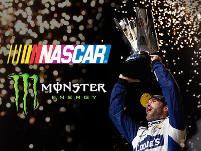 NASCAR -- We're Monster Now! New Sponsor Revealed