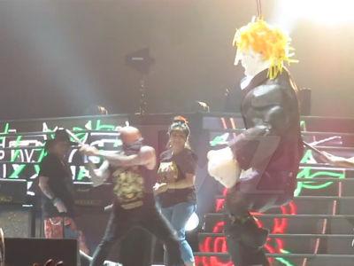 Guns N' Roses -- Knock, Knock, Knockin' on Donald Trump Piñata (VIDEO)