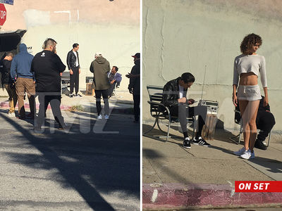 G-Eazy -- Cops Called To Video Shoot After Pissed off Man Allegedly Attacks Crew (PHOTOS)