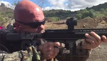 Stone Cold Steve Austin -- 3:16 Goes 9MM at Tactical Gun Range (VIDEO + PHOTO)