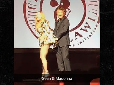 Madonna -- Sean Penn's Got Me in Handcuffs ... Just Like the Good Old Days (VIDEO)