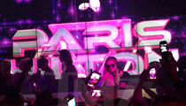Paris Hilton -- Party Foul! Who Dumped Their Vodka on My DJ Gear?? (VIDEO)