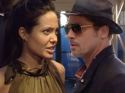 Angelina Jolie and Brad Pitt -- Child Visitation Changes in Hands of Therapist