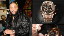 DJ Khaled -- Watch Me Bling Out With This $100k Timepiece! (PHOTOS + VIDEO)