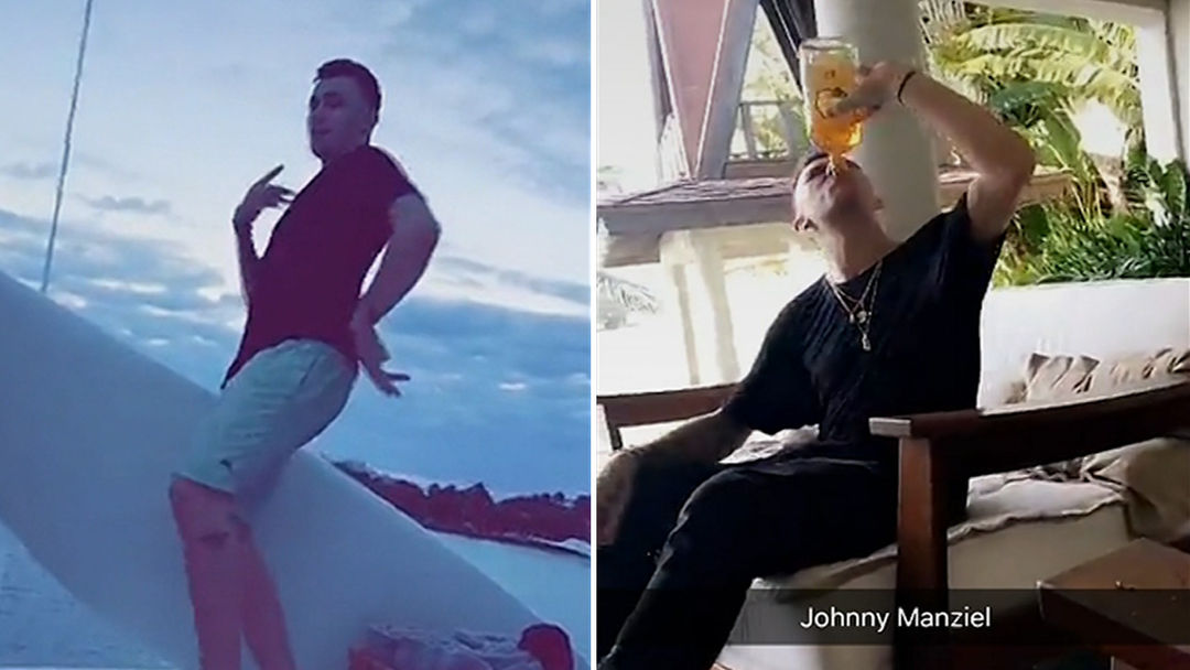 Johnny Manziel Chuggin' Fireball at 8AM | TMZ.com
