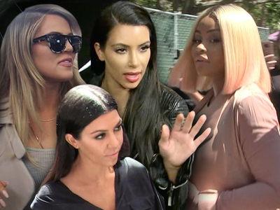 Kardashian Sisters -- Crush Blac Chyna's Biz Dreams ... You'll Never Be One of Us