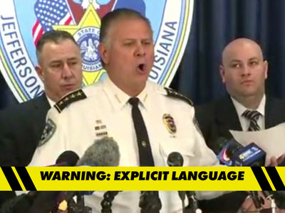 Joe McKnight Case -- Sheriff Drops N-Bomb, F-Bomb ... In Bizarre News Conference (VIDEO)