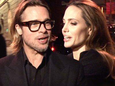 Brad Pitt to Angelina Jolie -- Child Therapists Won't Listen ... Threatens to Go Around Custody Deal with Angelina