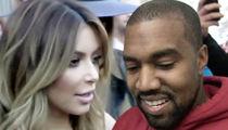 Kim Kardashian & Kanye West -- No Divorce in the Works