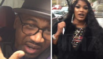 Stevie J & Joseline Hernandez -- Cops Called Over Her Jealous Rage (VIDEO)