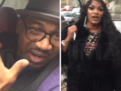 Stevie J & Joseline Hernandez -- Cops Called Over Her Jealous Rage (VIDEO)
