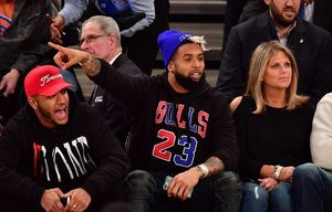 Celebrity Attendance -- Cavs vs. Knicks Game at the Garden