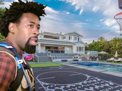 Cops Called to DeAndre Jordan's Sick L.A. Mansion (PHOTO GALLERY)