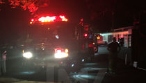 Fire Trucks Race to Jared Leto's Hollywood Hills Home (PHOTOS)
