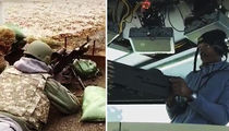 Ray Allen's Machine Gun Training After Chopper Ride In Afghanistan (VIDEO)