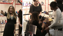 Sarah Jessica Parker Digs In Her Heels At D.C. Store Launch (VIDEO)
