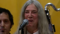 Patti Smith Forgets Bob Dylan Lyrics, Accepts His Nobel Prize (VIDEO)