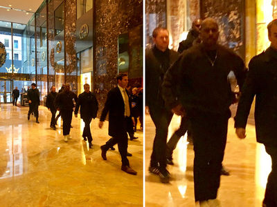 Kanye West Goes to Meet Donald Trump (PHOTO + VIDEO)