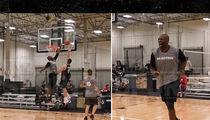 Terrell Owens Ballin', Drains 3 Pointer, Monster Block (VIDEO)