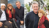 Alan Thicke Was Picture of Health at Christmas Party (PHOTO GALLERY)