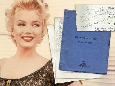 Marilyn Monroe's Final Script Hauls in $25k (PHOTO GALLERY)