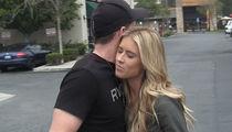 'Flip or Flop's' Christina & Tarek El Moussa's Awkward Hug After Coffee Run (VIDEO)