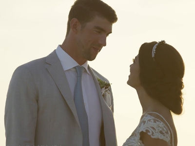 Michael Phelps' Wedding Day Video (VIDEO)