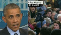 Reporter Faints at President Obama's Year-End News Conference (VIDEO + PHOTO)
