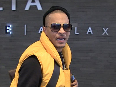 Watch T.I.'s Excitement at Our Donald Trump Question/Mistake (VIDEO)