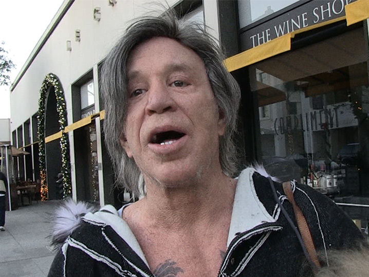 Mickey Rourke Car Accident
