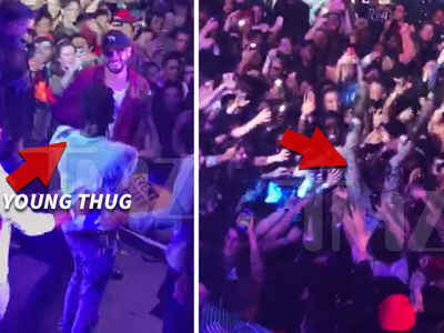 Young Thug's Epic Crowd Surfing Wipeout (VIDEO)