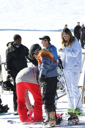 Heidi Klum and Seal -- Reunited in Aspen ... For the Kids