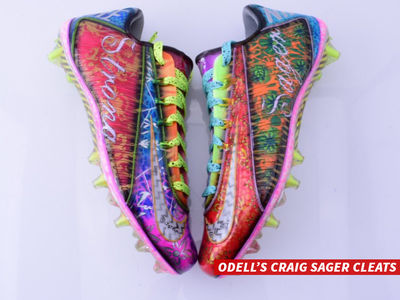 Odell Beckham Puts NFL On Blast Again ... They Fined Me for Craig Sager Cleats! (PHOTOS)