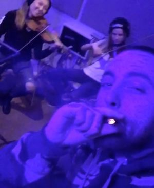 Mac Miller Gettin' Lit for Hannukah