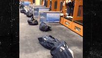 Russell Wilson Surprises Linemen ... TVs For Everyone!!! (VIDEO)