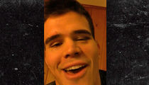 UFC's Mickey Gall Says He'll Be Champion ... In a Few Years (Video)