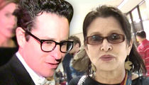 J.J. Abrams Says Carrie Fisher Was Truly the Force