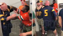 Bowl Game Bathroom Fight -- 'I Used to Eff Guys Like You In Prison!' (VIDEO)