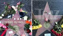 Debbie Reynolds' Hollywood Stars Overrun by Flowers (PHOTOS)
