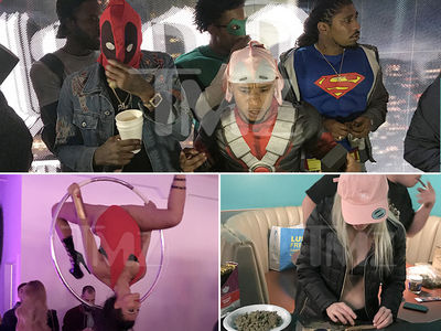 Rae Sremmurd's Superhero Party Packed With Stars (PHOTO GALLERY + VIDEO)