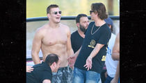 Rob Gronkowski Is BACK ... To Partying On Yachts (PHOTO)