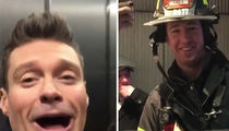 Ryan Seacrest Stuck in Times Square Elevator